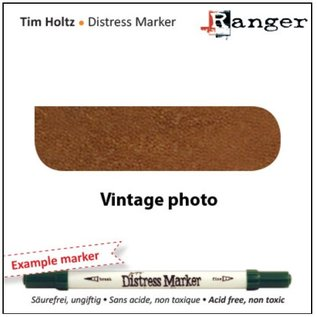 BASTELZUBEHÖR, WERKZEUG UND AUFBEWAHRUNG Tim Holtz distress marker, vintage foto