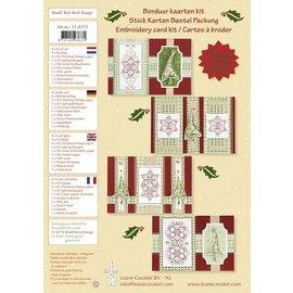 KARTEN und Zubehör / Cards Bastelset, Stick-kort kit