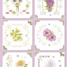 KARTEN und Zubehör / Cards Stick Card Kits, for the design of 6 cards