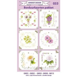 KARTEN und Zubehör / Cards Stick Card Kits, til design af 6 kort