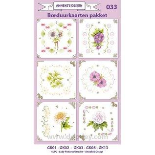 KARTEN und Zubehör / Cards Stok Card Kits, voor het ontwerp van 6 kaarten