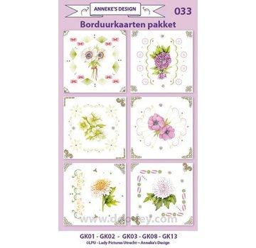 KARTEN und Zubehör / Cards Stick Kit Card, per la progettazione di 6 carte