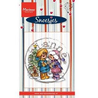 Stempel / Stamp: Transparent Transparante stempels Marianne design, Zingen Snoesjes