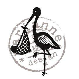 Marianne Design Transparent stamps Marianne design, Storch