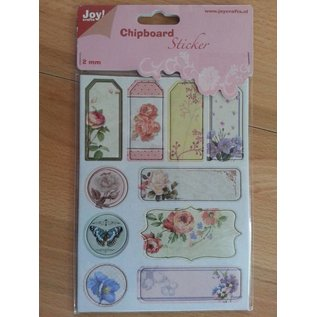 Joy!Crafts / Jeanine´s Art, Hobby Solutions Dies /  10 chipboard stickers, 2mm thick