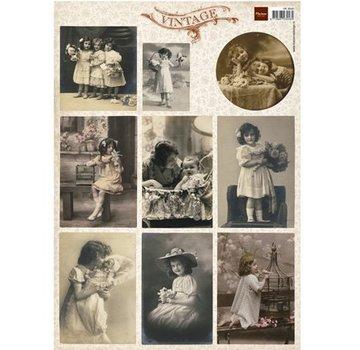 Nellie Snellen Vintage Bilderbogen