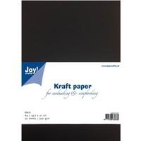 Kraftpapier schwarz