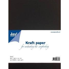 Joy!Crafts / Jeanine´s Art, Hobby Solutions Dies /  Kraftpapier schwarz
