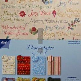 Joy!Crafts / Jeanine´s Art, Hobby Solutions Dies /  Designerblock, A4 Papierblock, Weihnachten