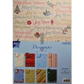 Joy!Crafts / Jeanine´s Art, Hobby Solutions Dies /  Designer Block, blocco A4 di carta, Natale