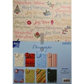 Joy!Crafts / Jeanine´s Art, Hobby Solutions Dies /  Diseñador Block, bloc de papel A4, Navidad