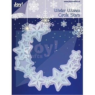 Joy!Crafts / Jeanine´s Art, Hobby Solutions Dies /  Stamping and Embossing stencil, circle of stars