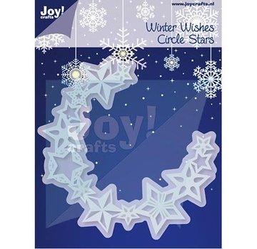 Joy!Crafts / Jeanine´s Art, Hobby Solutions Dies /  Stempling og prægning stencil, kreds af stjerner