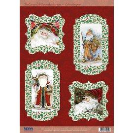 BASTELSETS / CRAFT KITS Bastelset de 4 Tarjetas de Navidad