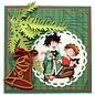Marianne Design Stanz- und Prägeschablone, 2 Weihnachtskugeln