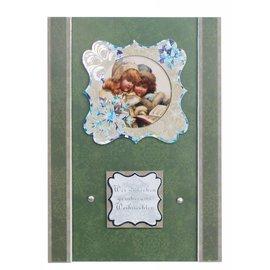 Luxe stansvel, met zilveren lijst, 8 afbeeldingen, Kerst