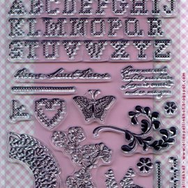 Marianne Design Transparente Stempel, Eline's Huis Kreuzstitch - LETZTE VORRÄTIG!