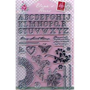 Marianne Design Gennemsigtige frimærker, Eline er Huis Kreuzstitch
