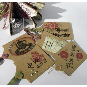 Joy!Crafts / Jeanine´s Art, Hobby Solutions Dies /  tampons transparents, Amour Accueil