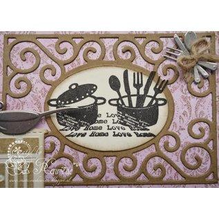 Joy!Crafts / Jeanine´s Art, Hobby Solutions Dies /  Transparante stempels, Joy, Love Home