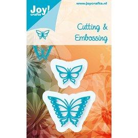 Joy!Crafts / Jeanine´s Art, Hobby Solutions Dies /  Stampen en Embossing stencil, Joy Crafts, Butterflies