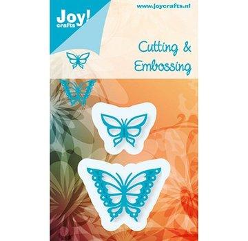 Joy!Crafts / Jeanine´s Art, Hobby Solutions Dies /  Stampaggio e goffratura stencil, Gioia Crafts, Farfalle