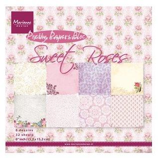 Marianne Design Designersblock, Sweet Roses