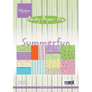 Karten und Scrapbooking Papier, Papier blöcke Designerblock, Summerfun