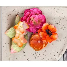 Prima Marketing und Petaloo Fleurs et feuilles de Prima Marketing, 9 pièces