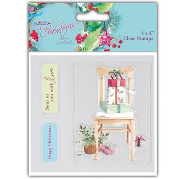 Docrafts / Papermania / Urban Clear stamps, des motifs de Noël