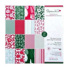 Karten und Scrapbooking Papier, Papier blöcke Designersblock, 15x15cm, Natale
