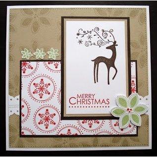 Karten und Scrapbooking Papier, Papier blöcke Designerblock, 15x15cm, Weihnachten