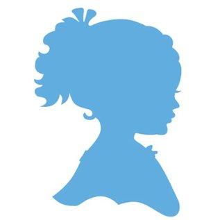 Marianne Design Creatables - Silhouet meisje met haar en met gevlochten haar, 2 meisjes