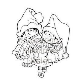 Marianne Design Clear stamps, motif de Noël, Snoesjes
