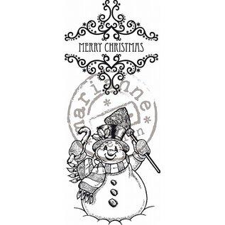 Marianne Design Sellos de caucho, motivos navideños