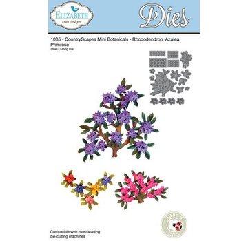 Elisabeth Craft Dies , By Lene, Lawn Fawn Stampaggio e goffratura stencil, rami Elizabeth Craft Progettazione e mini fiori