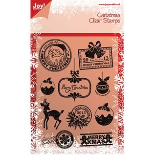 Joy!Crafts / Jeanine´s Art, Hobby Solutions Dies /  Clear Stamps, kerst motieven