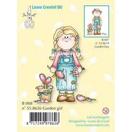 Leane Creatief - Lea'bilities und By Lene Sello transparente, Jardín chica