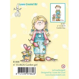 Leane Creatief - Lea'bilities und By Lene Timbro Trasparente, Giardino ragazza