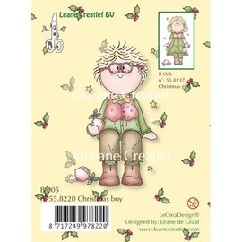 Leane Creatief - Lea'bilities und By Lene Transparenter Stempel, Christmas boy