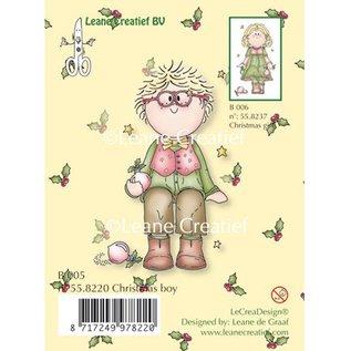 Leane Creatief - Lea'bilities und By Lene Transparante stempels, jongen van Kerstmis