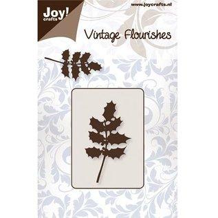 Joy!Crafts / Jeanine´s Art, Hobby Solutions Dies /  Ponsen en embossing sjabloon, hulst bladeren