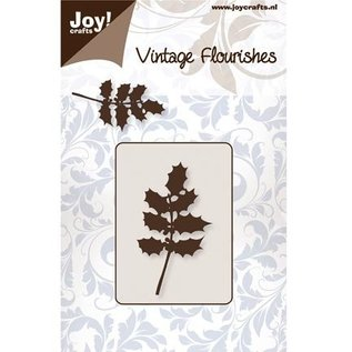 Joy!Crafts / Jeanine´s Art, Hobby Solutions Dies /  Punching and embossing template, holly leaves