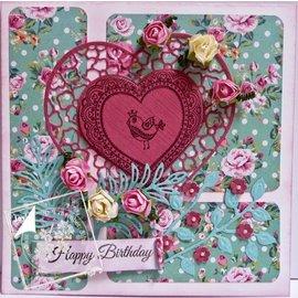 Joy!Crafts / Jeanine´s Art, Hobby Solutions Dies /  Transparenter Stempel, Lovebirds