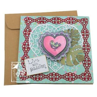 Joy!Crafts / Jeanine´s Art, Hobby Solutions Dies /  Transparenter Stempel, Lovebirds