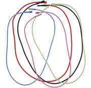 BASTELZUBEHÖR, WERKZEUG UND AUFBEWAHRUNG 5 Collana, elastico, in 5 diversi colori