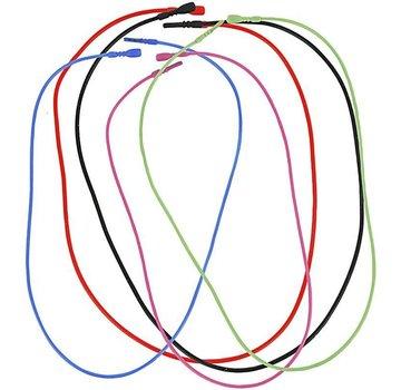 BASTELZUBEHÖR, WERKZEUG UND AUFBEWAHRUNG 5 Necklace, elastic, in 5 different color