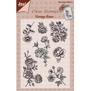 Joy!Crafts / Jeanine´s Art, Hobby Solutions Dies /  Transparant stempel, Vintage Rose