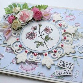 Joy!Crafts / Jeanine´s Art, Hobby Solutions Dies /  Transparent stempel, Vintage Rose