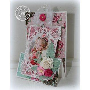 Joy!Crafts / Jeanine´s Art, Hobby Solutions Dies /  Stampen en Embossing stencil, het frame ovale bloem